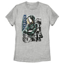 Marvel Women's The Falcon and the Winter Soldier Sharon Carter  T-Shirt