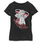 Marvel Girl's WandaVision Wanda Cartoon  T-Shirt  Black  L