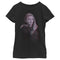 Marvel Girl's WandaVision Wanda Glitch  T-Shirt  Black  L