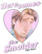 Tangled Men's Flynn Rider Here Comes the Smolder  T-Shirt