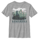 Raya and the Last Dragon Boy's Kumandra Kingdom of the Dragon Sea  T-Shirt  Athletic Heather  YL
