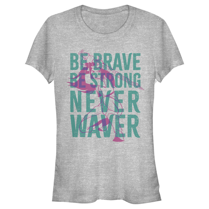 Raya and the Last Dragon Junior's Be Brave Be Strong Never Waver  T-Shirt