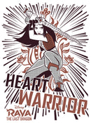 Raya and the Last Dragon Boy's Heart Warrior  T-Shirt