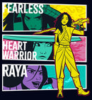 Raya and the Last Dragon Girl's Fearless Heart Warrior Raya  T-Shirt