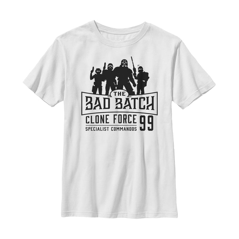 Star Wars: The Clone Wars Clone Wars Bad Batch Boys Graphic T Shirt