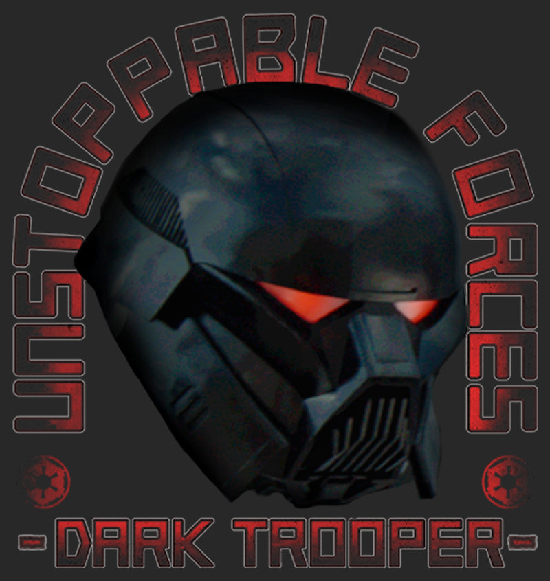 Star Wars The Mandalorian Women's Dark Trooper Unstoppable Forces  T-Shirt