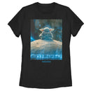 Star Wars The Mandalorian Women's The Child Meditation  T-Shirt  Black  2XL