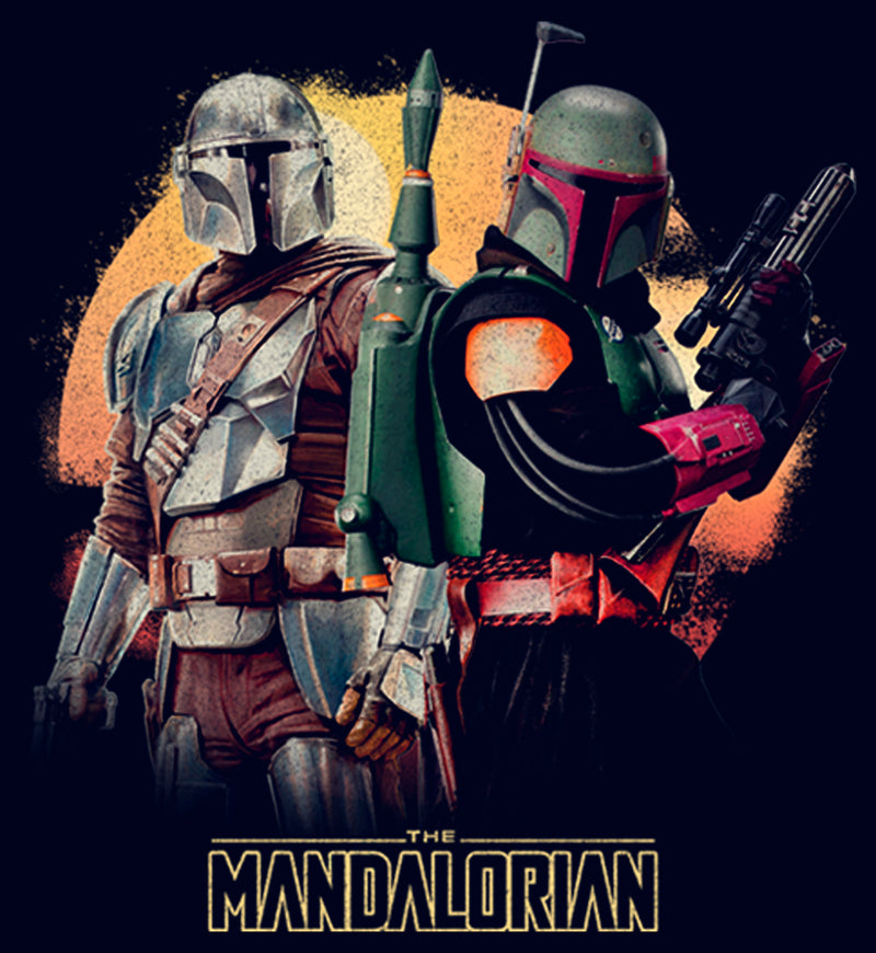 Star Wars The Mandalorian Junior's Boba Fett Honor the Deal  T-Shirt