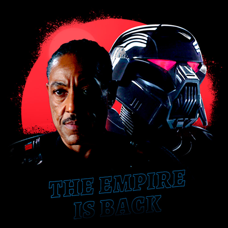 Star Wars The Mandalorian Men's Gideon Empire Is Back  T-Shirt