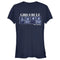 Star Wars The Mandalorian Junior's Girls Rule the Galaxy  T-Shirt  Navy Blue  M
