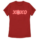 Star Wars The Mandalorian Women's Valentine's Day The Child XOXO Bassinet  T-Shirt