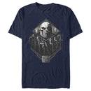 Zack Snyder Justice League Men's Darkseid Group Shot  T-Shirt