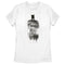 Zack Snyder Justice League Women's Batman Shadow  T-Shirt  White  M