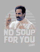 Seinfeld Men's No Soup For You Photo  T-Shirt