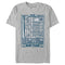 Seinfeld Men's Hot-Spots of New York  T-Shirt  Silver  S