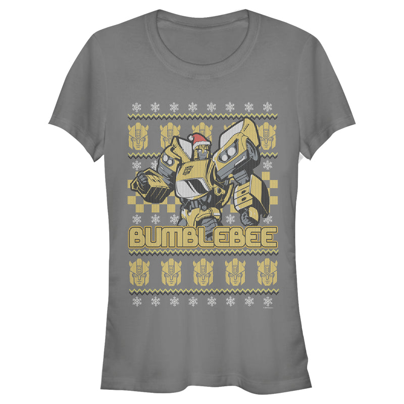 Transformers Junior's Bumblebee Ugly Xmas  T-Shirt