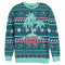 The Christmas Chronicles 2 Men's Ugly Xmas Tropical Paradise  All-Over Sweatshirt