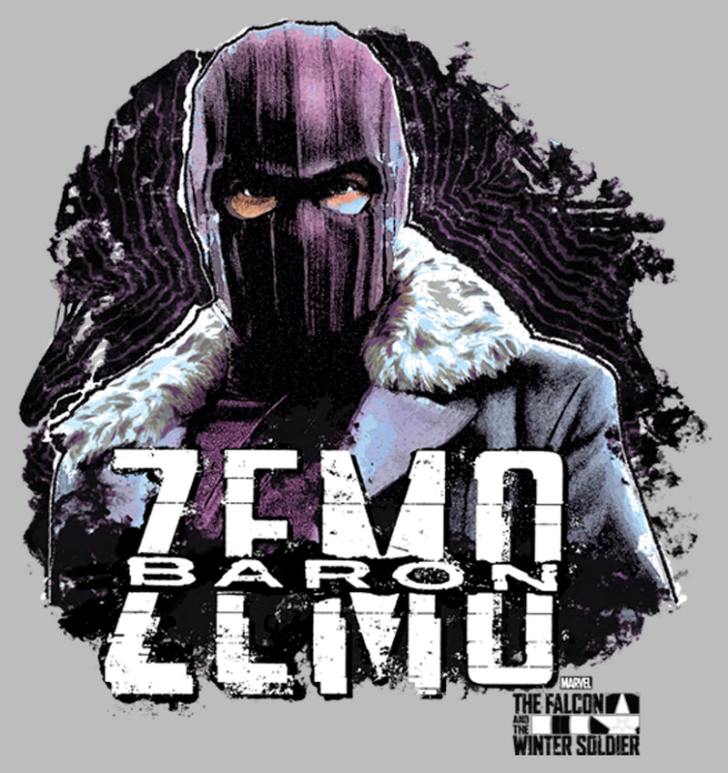 Marvel Men's The Falcon and the Winter Soldier Baron Zemo Underworldly Heir  T-Shirt