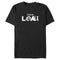 Marvel Men's Color Block Loki Logo  T-Shirt  Black  3XL