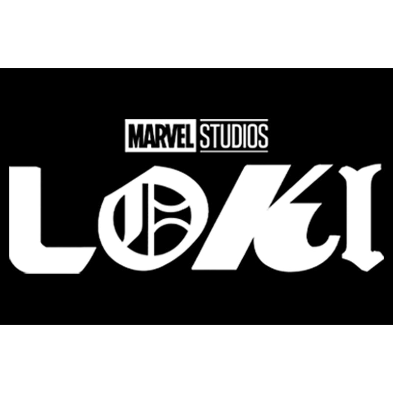 Marvel Junior's Color Block Loki Logo  T-Shirt