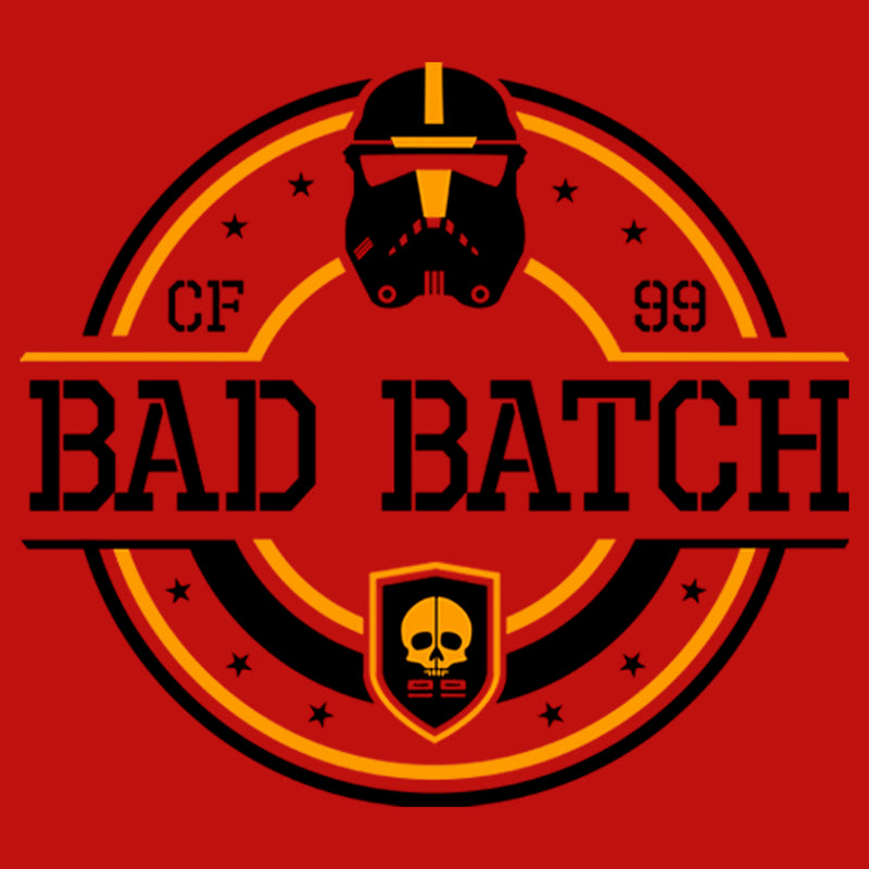 Star Wars: The Bad Batch Junior's Circle Logo  T-Shirt