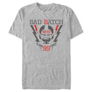 Star Wars: The Bad Batch Men's Lightning Logo  T-Shirt  Athletic Heather  M