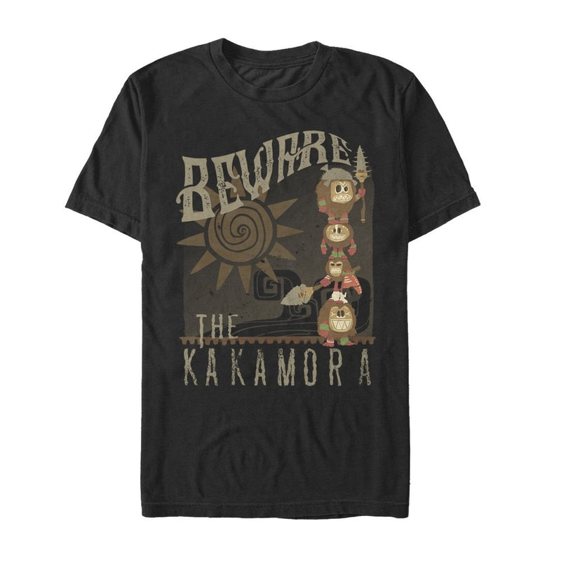 Moana Men's Kakamora Beware  T-Shirt  Black  XL