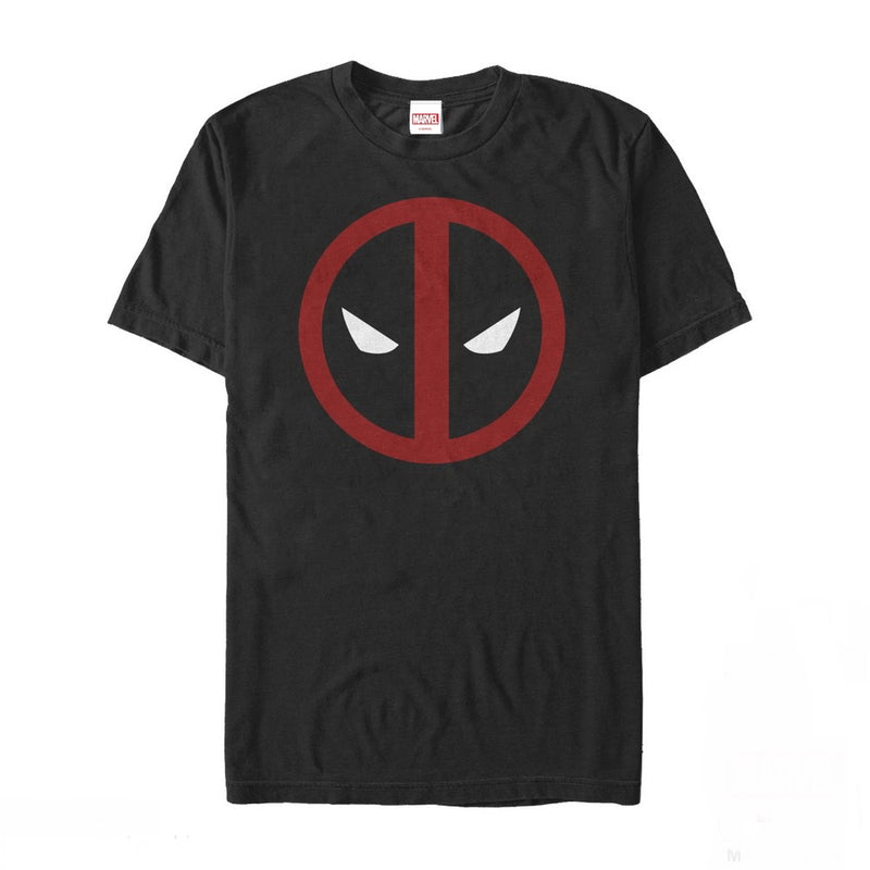 Marvel Men's Deadpool Mask Classic  T-Shirt  Black  3XL