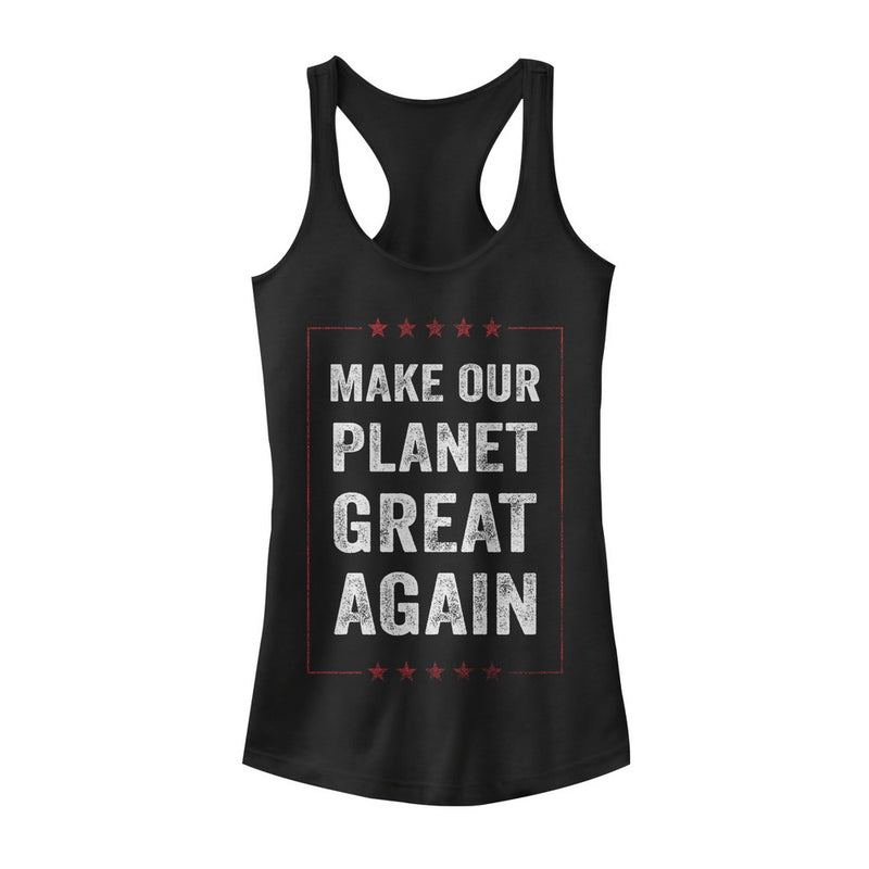 Lost Gods Make Planet Great Again Mens Graphic T Shirt