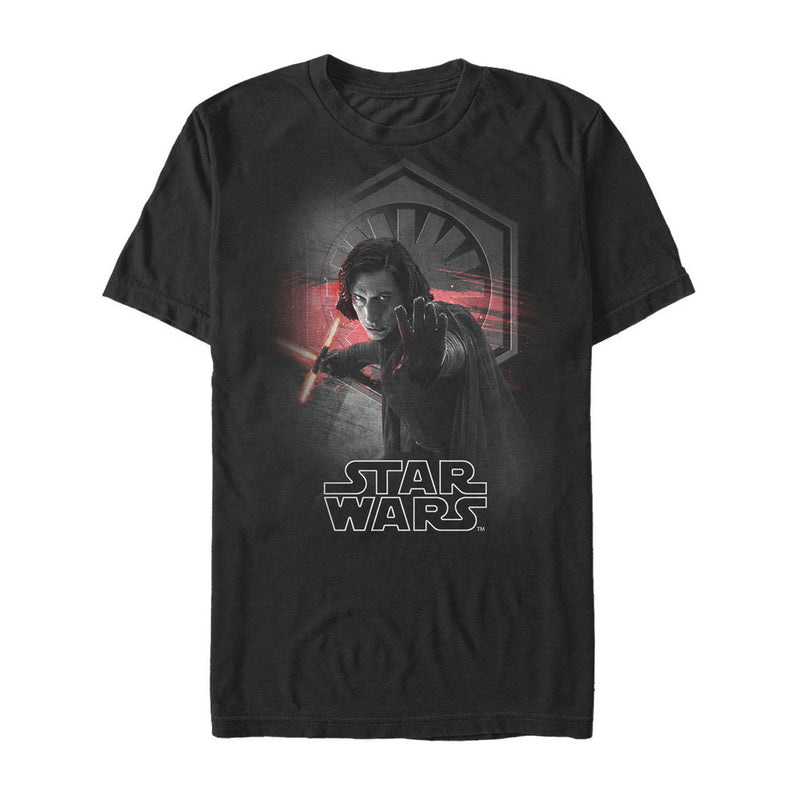 Star Wars The Last Jedi Kylo Ren Control Mens Graphic T Shirt