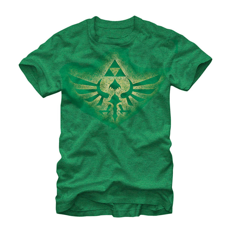 Nintendo Legend of Zelda Soaring Triforce Mens Graphic T Shirt