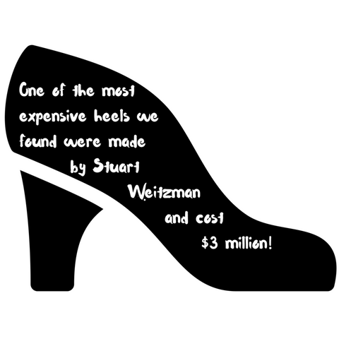 fashion facts - expensive shoes