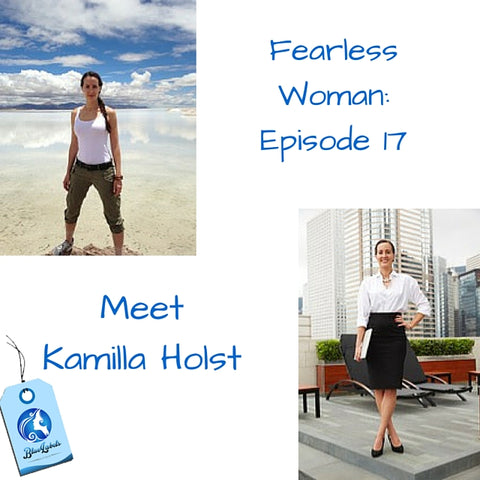Kamilla Holst Fearless Woman Blue Labels Boutique