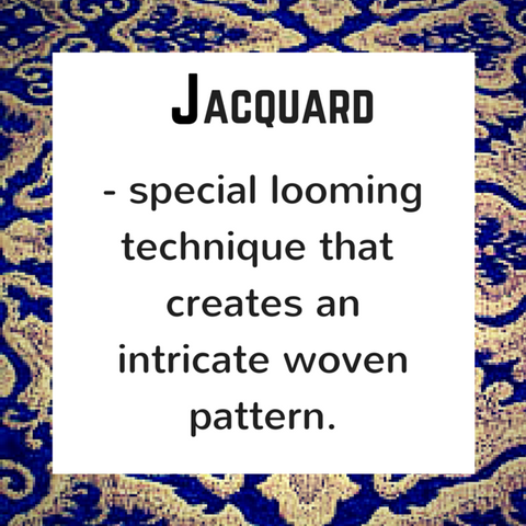 Jacquard - definition, Blue Labels Boutique