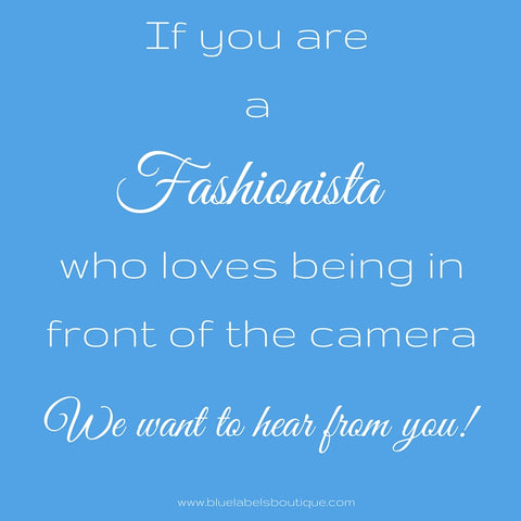 fashionistas wanted, blue labels boutique