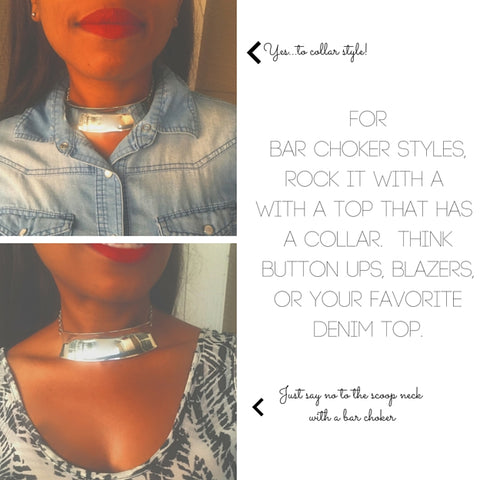 90's choker trends, blue labels boutique