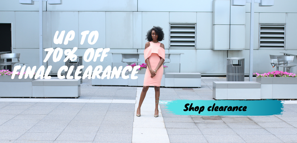 clearance on women's dresses and skirts