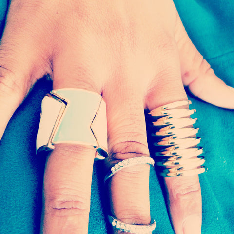 three rings on sale, blue labels boutique