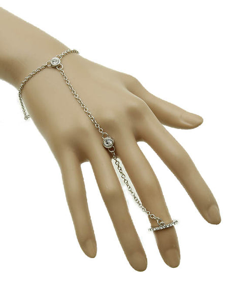 Ring and Hand Chain - Blue Labels Boutique - 1