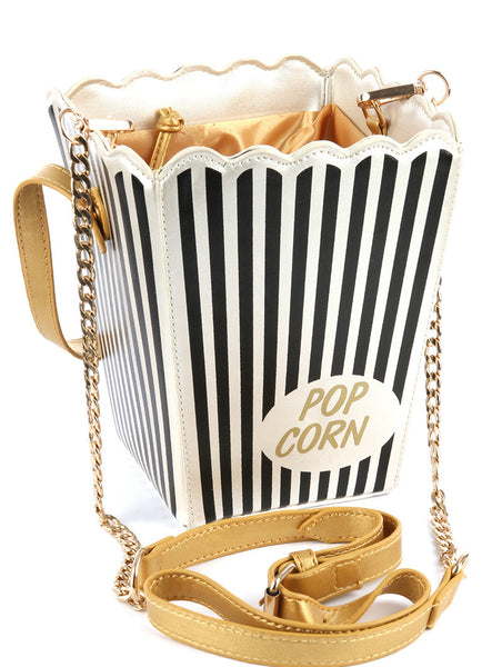 Time For Popcorn Bag - Blue Labels Boutique - 1