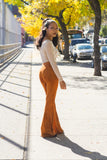 Top Dress Boutique - Suede Flares - Blue Labels Boutique