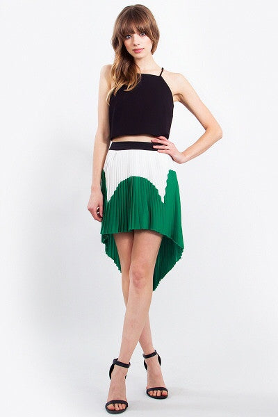 Pretty Pleated Skirt - Blue Labels Boutique - 4