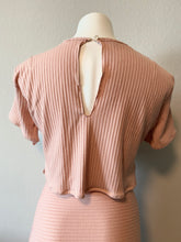 Load image into Gallery viewer, pink cotton top