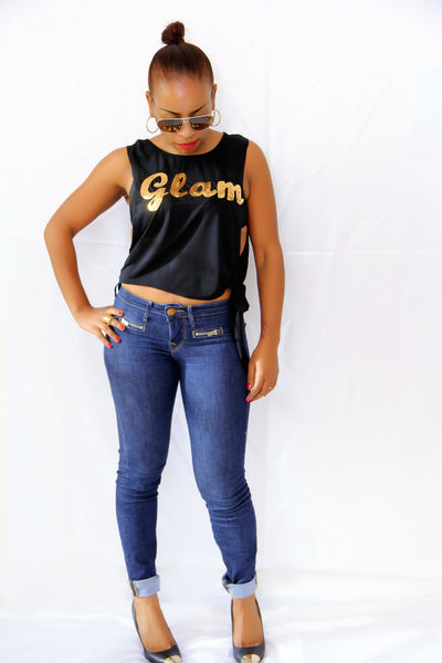 Glam It Up Top - Blue Labels Boutique - 1