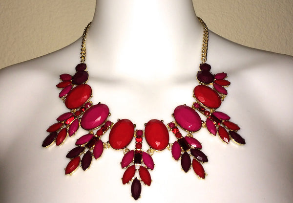 top dress boutique - Red Necklace - Blue Labels Boutique