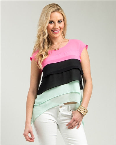 Tri-Layer Cake Top - Blue Labels Boutique - 1