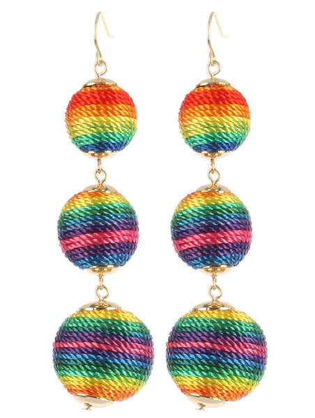 Round Ball Earrings