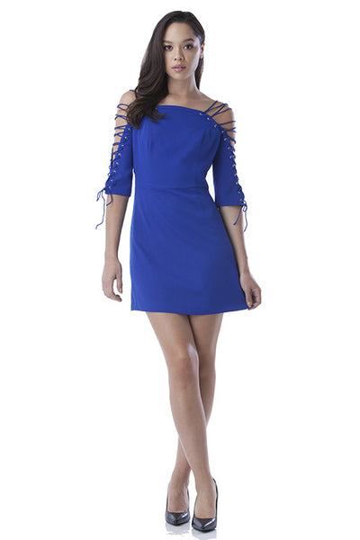 Too Tied Dress - Blue Labels Boutique - 1