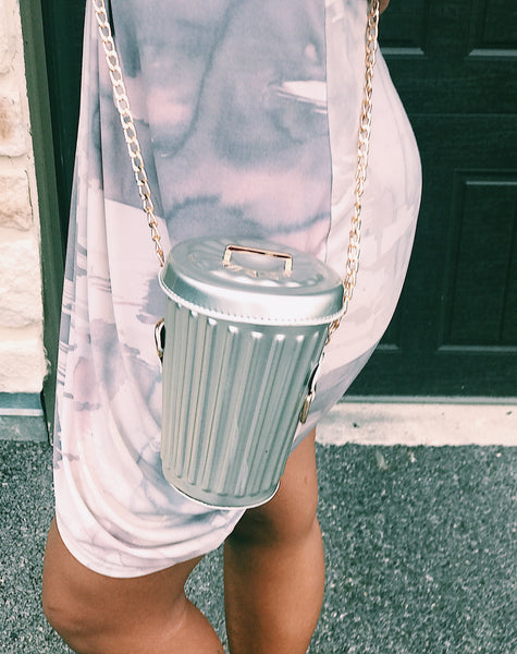 trash can crossbody bag