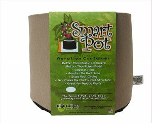 Smart Pot - (no handles) - Tan